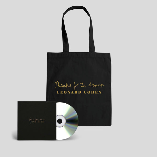 THANKS FOR THE DANCE TOTE BAG PLUS CD