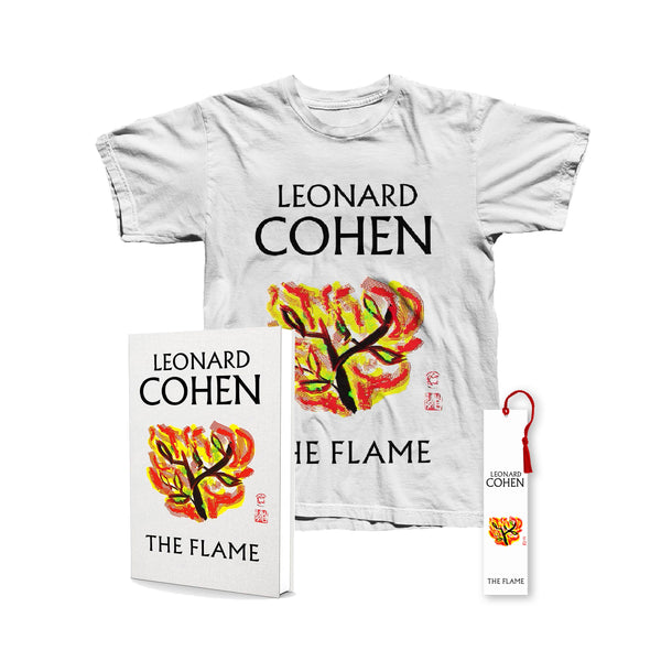 The Flame Book, Bookmark & T-Shirt Bundle - Men's