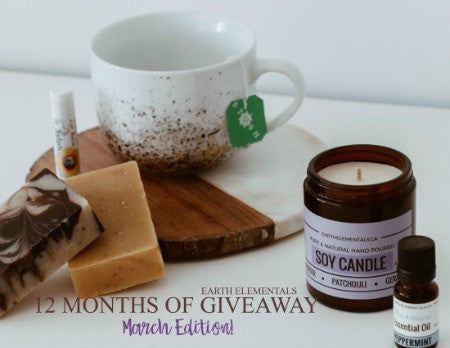 12 Months of Giveaways - March!