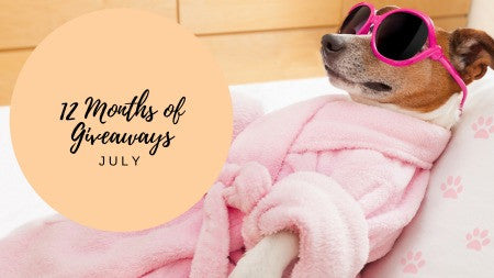 12 Months of Giveaways - July!