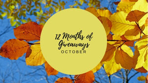 12 Months of Giveaways - October!