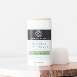 pure natural deodorant bay lime