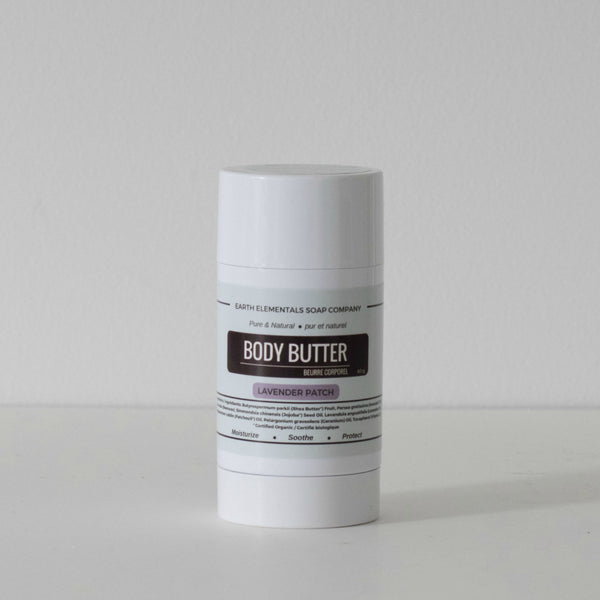 Lavender Patch natural body butter stick