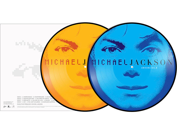 MIHAEL JACKSON - Invisible Picture Vinyl - 2LP