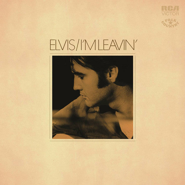 ELVIS PRESLEY - I'M LEAVIN': ELVIS FOLK-COUNTRY - LP