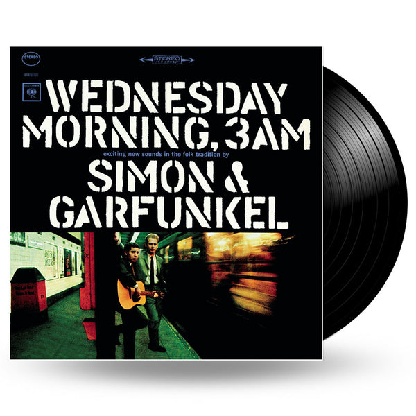SIMON & GARFUNKEL - WEDNESDAY MORNING, 3AM - LP