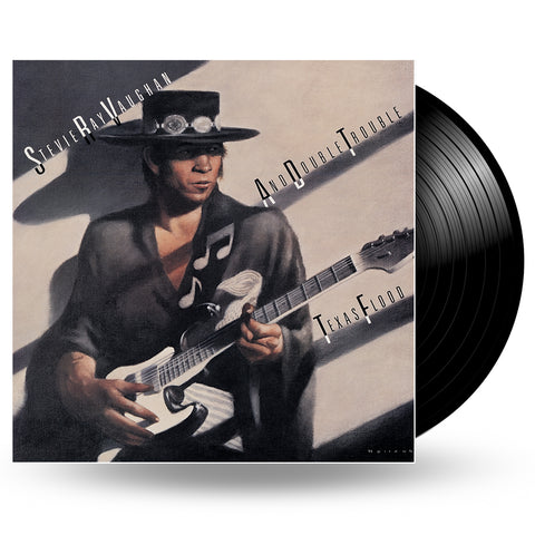 STEVIE RAY VAUGHAN & DOUBLE TROUBLE - TEXAS FLOOD - LP