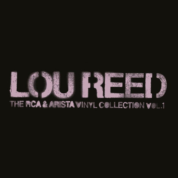 Lou Reed - The RCA & Arista Vinyl Collection. Vol.1 - 6LP