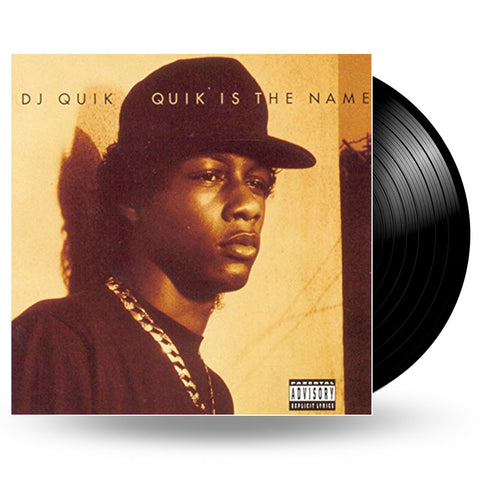 DJ QUIK - QUIK IS THE NAME - LP