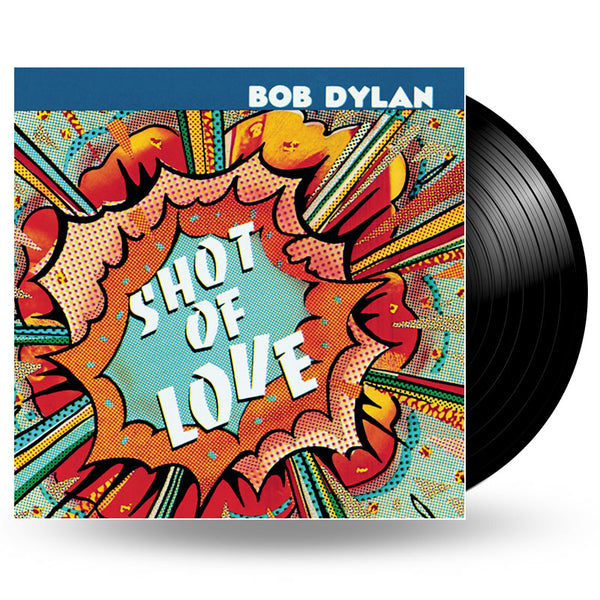 BOB DYLAN - SHOT OF LOVE LP