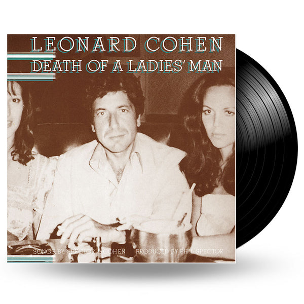LEONARD COHEN - DEATH OF A LADIES MAN  - LP