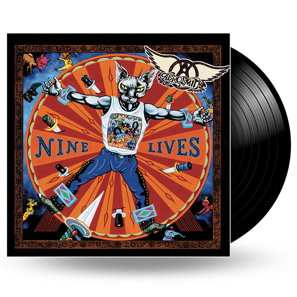 AEROSMITH - NINE LIVES 2LP