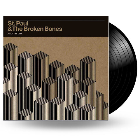 ST. PAUL & THE BROKEN BONES - HALF THE CITY - LP
