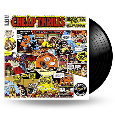 BIG BROTHER & THE HOLDING COMPANY - CHEAP THRILLS - LP