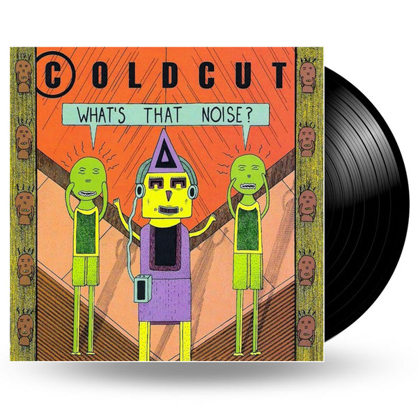 COLDCUT - WHAT'S THAT NOISE - LP