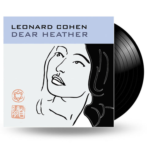 LEONARD COHEN - DEAR HEATHER - LP