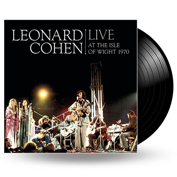 LEONARD COHEN - LIVE AT THE ISLE OF WIGHT 1970 - 2LP
