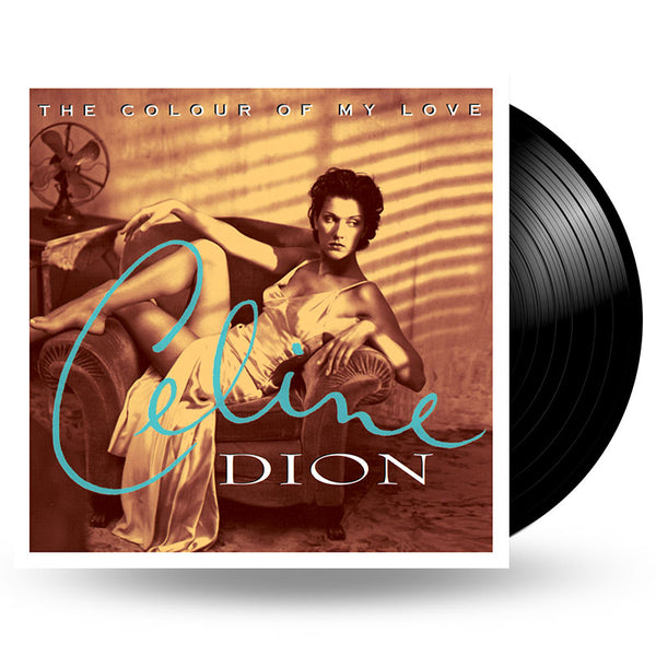 CELINE DION - THE COLOUR OF MY LOVE - 2LP