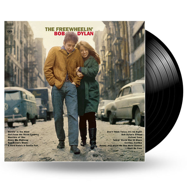 BOB DYLAN - THE FREEWHEELIN' BOB DYLAN - LP