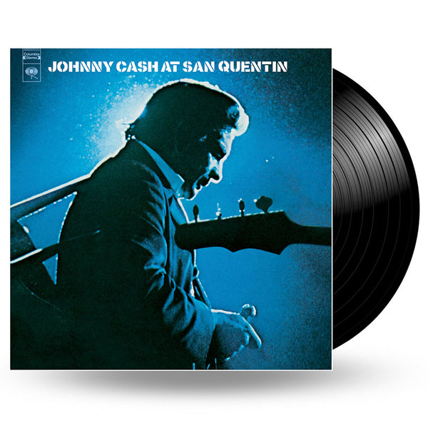 JOHNNY CASH - AT SAN QUENTIN - LP