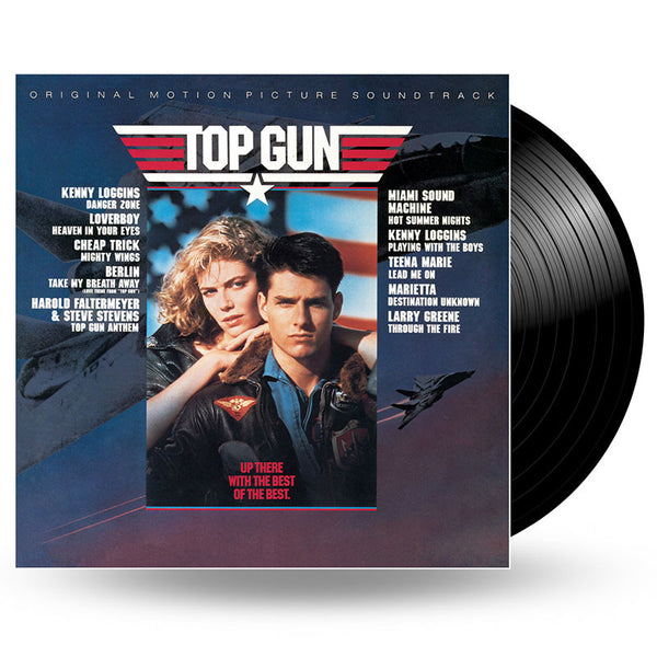 VARIOUS - TOP GUN (ORIGINAL MOTION PICTURE SOUNDTRACK) - LP