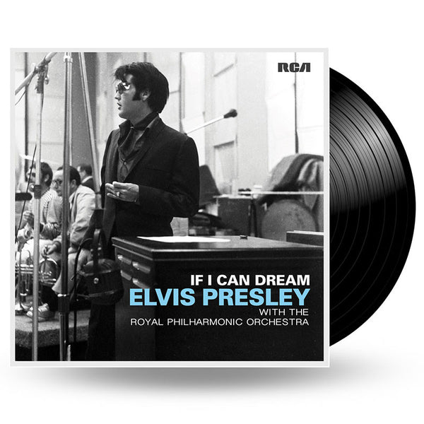 ELVIS PRESLEY - IF I CAN DREAM: ELVIS PRESLEY WITH THE ROYAL PHILHARMONIC ORCHESTRA - LP