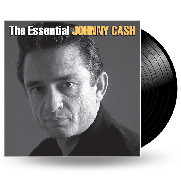 JOHNNY CASH - THE ESSENTIAL JOHNNY CASH - 2LP