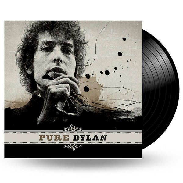 BOB DYLAN - PURE DYLAN - AN INTIMATE LOOK AT BOB DYLAN - 2LP
