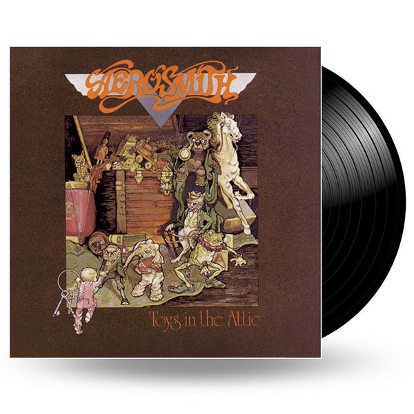 AEROSMITH - TOYS IN THE ATTIC - LP