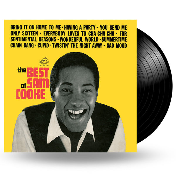 SAM COOKE - THE BEST OF SAM COOKE - LP