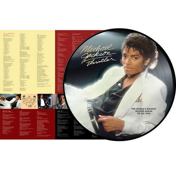 MICHAEL JACKSON - THRILLER EX-US PICTURE VINYL - LP