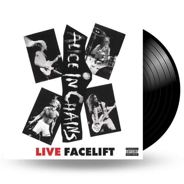 ALICE IN CHAINS - LIVE FACELIFT - LP