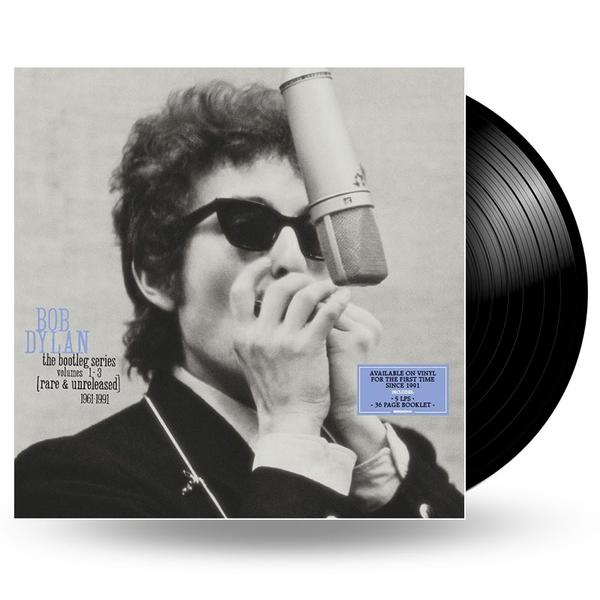 BOB DYLAN - THE BOOTLEG SERIES VOLUME 1-3 - 5LP