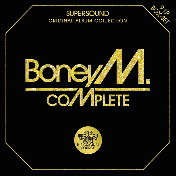 BONEY M. - COMPLETE (ORIGINAL ALBUM COLLECTION - 9LP BOX-SET) - BOXSET