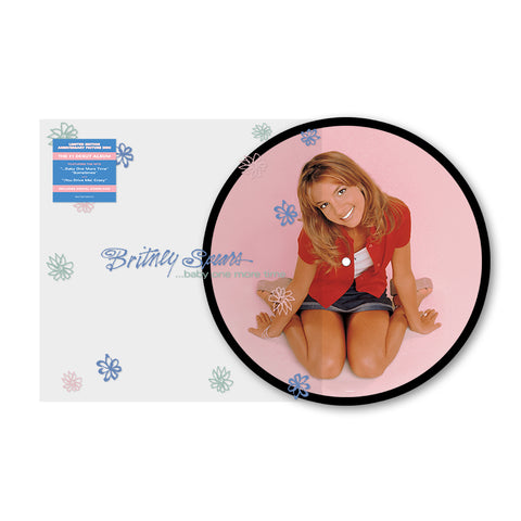 BRITNEY SPEARS - BABY ONE MORE TIME - Picture Disc