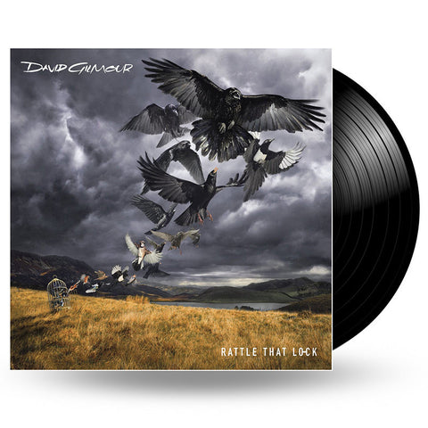 DAVID GILMOUR - RATTLE THAT LOCK - LP