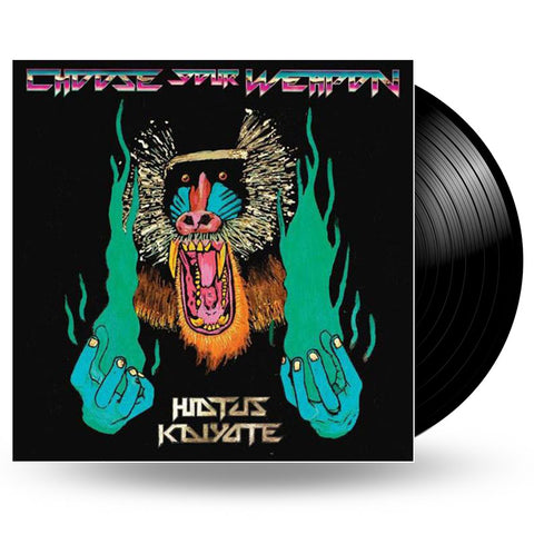 HIATUS KAIYOTE - CHOOSE YOUR WEAPON VINYL - LP