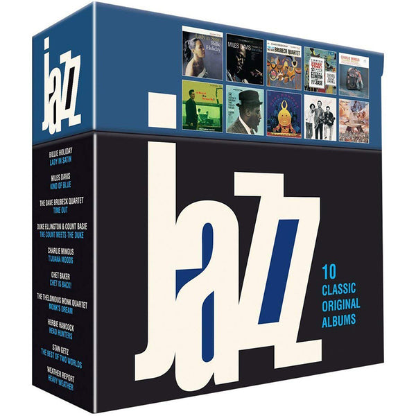 VARIOUS - JAZZ 10 - BOXSET