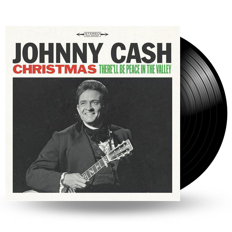 JOHNNY CASH - CHRISTMAS: THERE\'LL BE PEACE IN THE VALLEY - LP ...