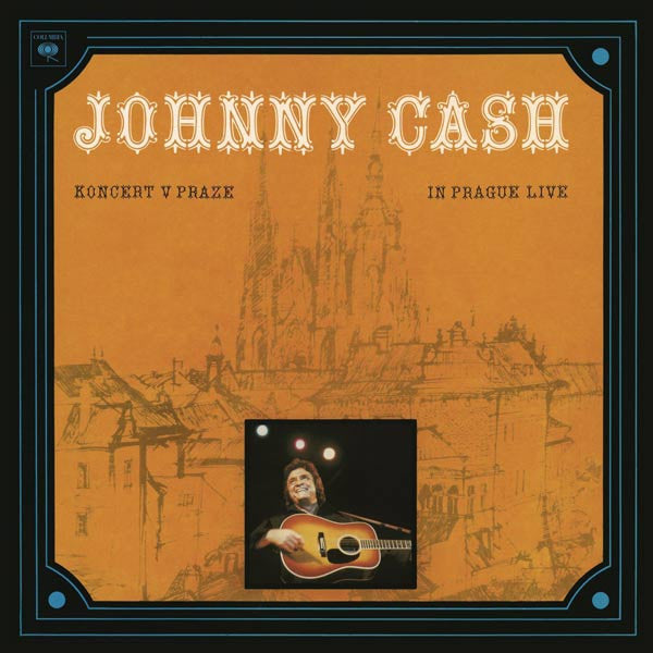 JOHNNY CASH - KONCERT V PRAZE (IN PRAGUE- LIVE) - LP