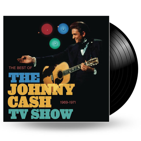 JOHNNY CASH - THE BEST OF THE JOHNNY CASH TV SHOW - LP