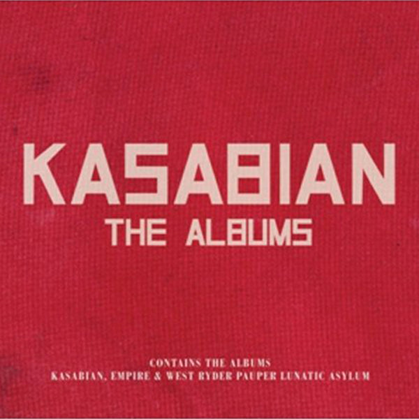 KASABIAN - THE ALBUMS - BOXSET