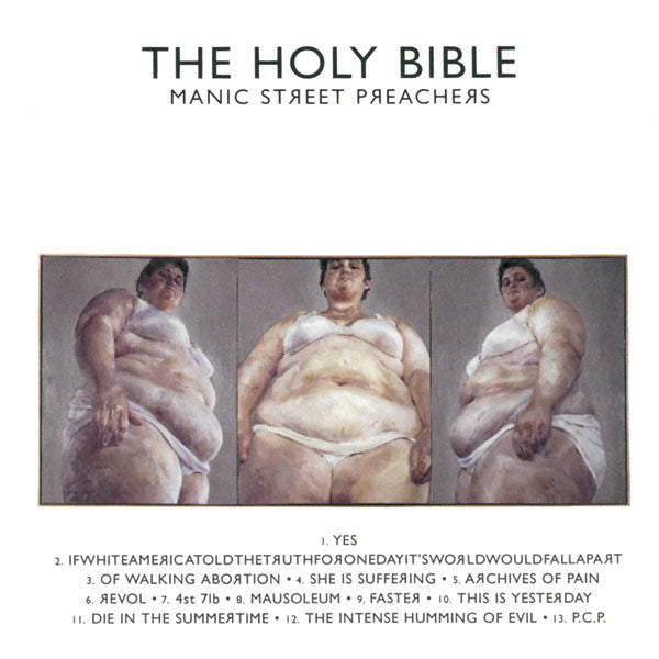 MANIC STREET PREACHERS - THE HOLY BIBLE (REMASTERED) & THE  CLASH - COMBAT ROCK