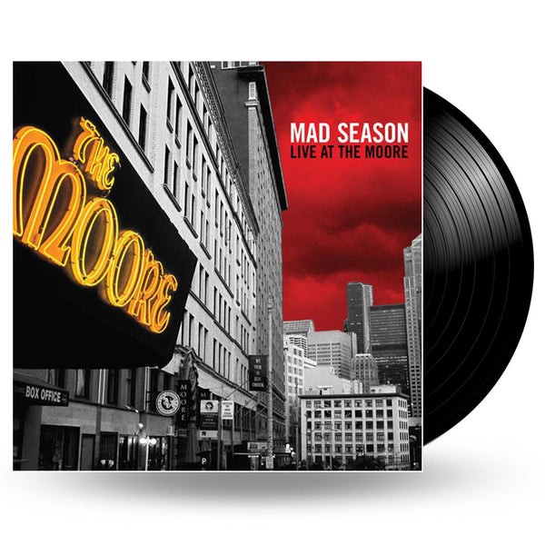 MAD SEASON - LIVE AT THE MOORE - LP