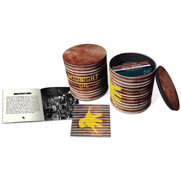 MIDNIGHT OIL - THE FULL TANK: THE COMPLETE ALBUM COLLECTION - BOXSET