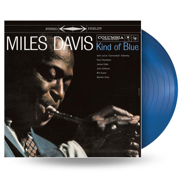 MILES DAVIS - KIND OF BLUE - Colour LP