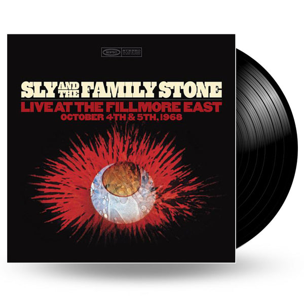 SLY & THE FAMILY STONE - LIVE AT THE FILLMORE VINYL LP