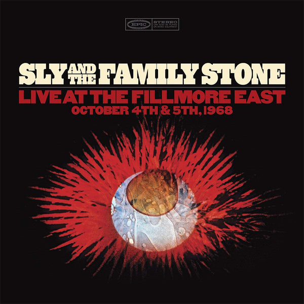 SLY & THE FAMILY STONE - LIVE AT THE FILLMORE EAST OCTOBER 4TH & 5TH 1968 - BOXSET