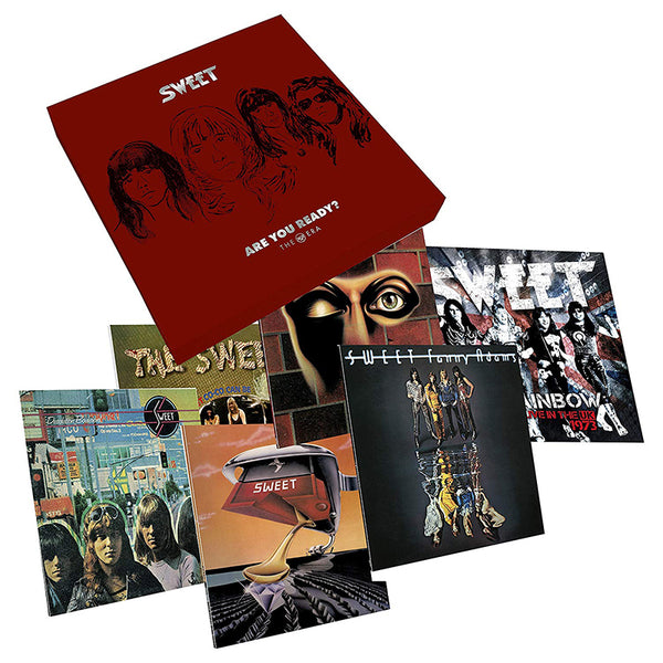 SWEET - ARE YOU READY (THE RCA ERA) - BOXSET