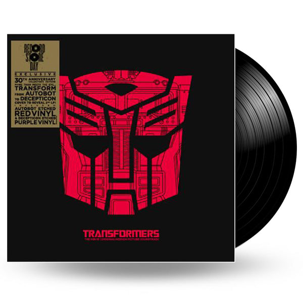 VARIOUS - TRANSFORMERS THE MOVIE SOUNDTRACK - LP